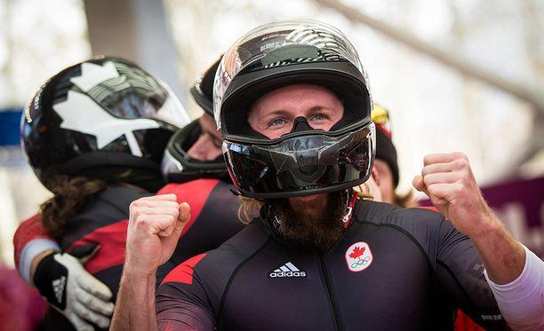 Jesse Lumsden valmistautuu tällä hetkellä ensi talven olympialaisiin.