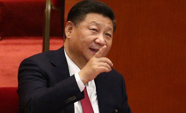 Kiinan presidentti Xi Jinping voi jatkaa toimessaan nyt entistä pidempään.