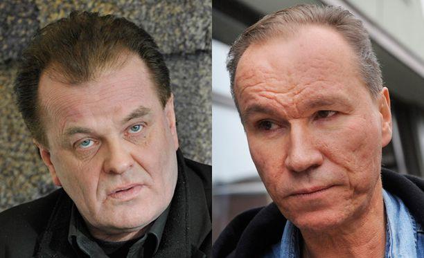 Tapio Liinoja ja Ile Vainio kokivat kauhunhetkiä Espanjassa.