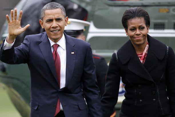 Barack Obaman puoli Michelle on kiistänyt olevansa huonoissa väleissä Valkoisen talon avustajakunnan kanssa.