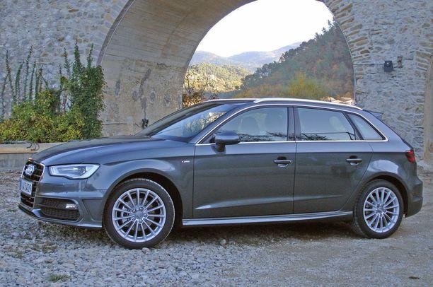 Audi A3 oli vahva myös paljon ajettuna.