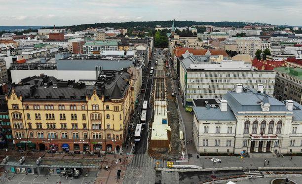 Tampereen keskustassa sijaitsevassa ravintolassa levisi elokuun alussa norovirus.