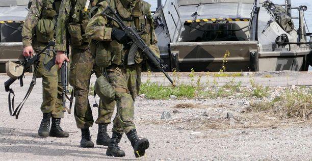 Kranaatin räjähdys tapahtui merisotakoulun ampumaharjoituksessa keskiviikkoaamuna (arkistokuva).