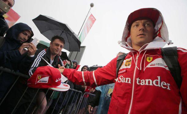 Kimi Räikköselle Italian GP:n aika-ajo oli iso pettymys.