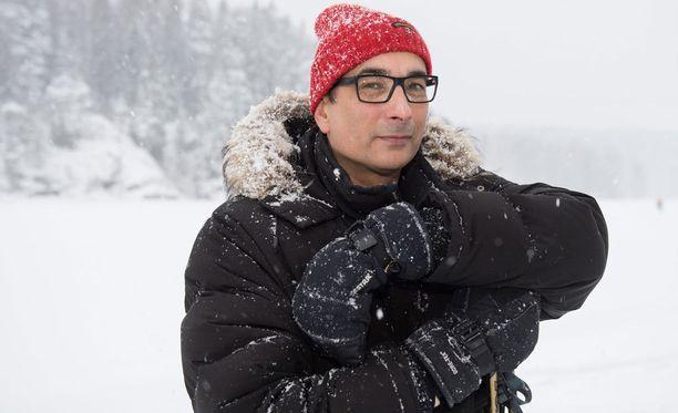 Heikki Lampelan tuore talvikuva paljastaa sen, että mies on pysynyt vuosien saatossa lähes muuttumattomana.