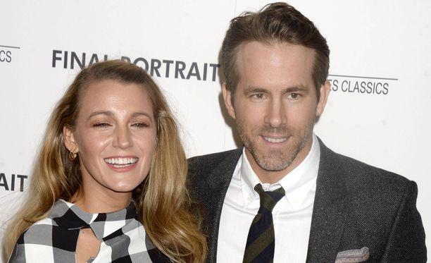 Ryan Reynolds on ollut naimisissa vaimonsa Blake Livelyn kanssa neljä vuotta.