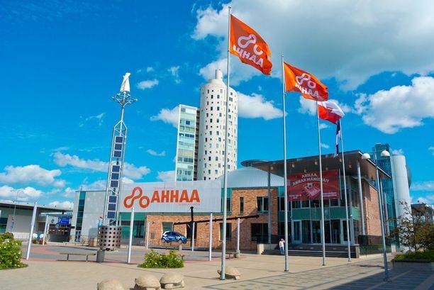 Ahhaa-tiedekeskuksen löydät Tarton keskustasta.