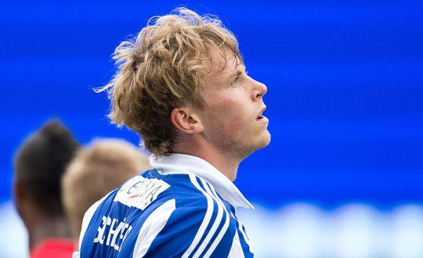 Rasmus Schüllerillä on pohjevamma.