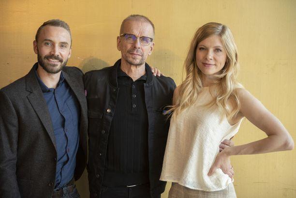 Kotimainen vakoilutrilleri alkaa syksyllä 2018 C morella. Puotilan lisäksi sarjassa nähdään nimiroolissa Samuli Vauramo sekä Saara Kotkaniemi.