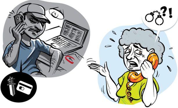 Poliisi ei koskaan kysy pankkitietoja tai salasanoja puhelimessa.