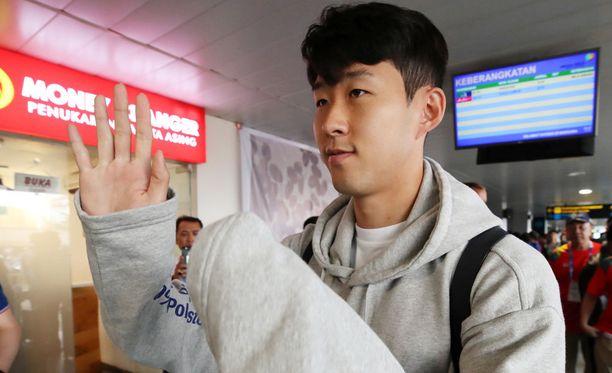 Son Heung-min ehti pelata Tottenhamin riveissä yhden valioliigaottelun ennen kuin matkusti pelaamaan kotimaansa puolesta Aasian kisoihin.