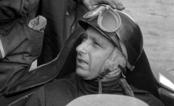 Juan Manuel Fangio voitti F1-maailmanmestaruuden viidesti.