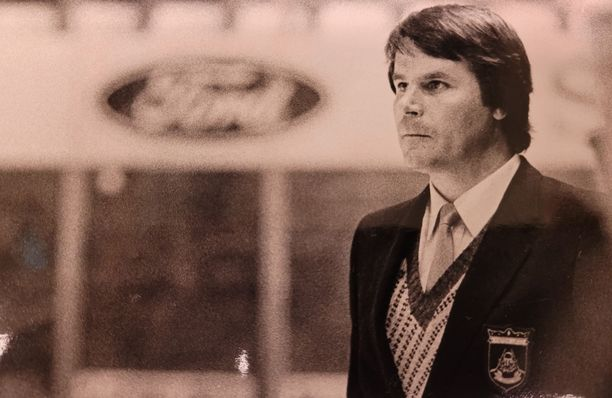 """Esko """"Killeri"""" Sahlstedt toimi Lukon valmentajana 1970- ja 1980-luvulla."""