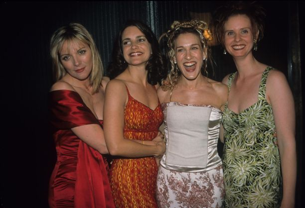 Sinkkuelämää -sarja teki päähenkilöistään kuuluisia.