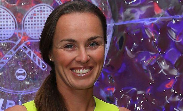 Martina Hingis valittiin tenniksen kunniagalleriaan.