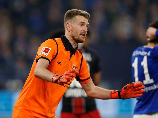 Lukas Hradecky ylsi korkealle Vuoden urheilija -äänestyksessä.