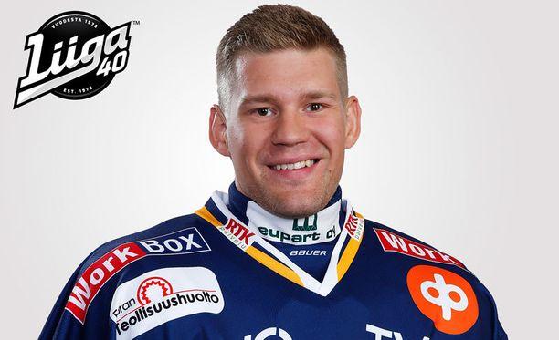 Tämä Antti Jaatinen kantaa tällä viikolla Pelicansin paitaa.