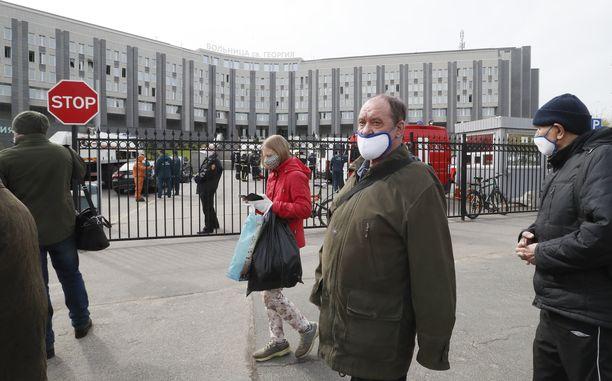 Tuhoisa tulipalo oli tiistaina St. George -sairaalassa Pietarissa.
