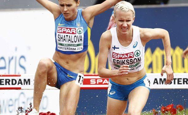 Sandra Erikssonin EM-finaali meni pilalle allergiaoireiden takia.