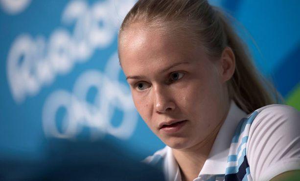 Petra Olli taistelee keskiviikkona olympiamitaleista.