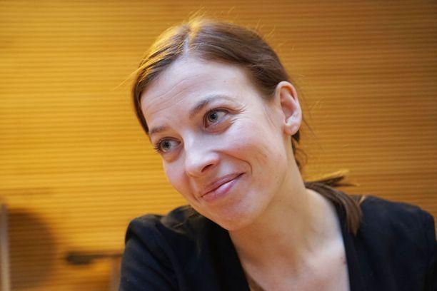 Keskiviikkona oli Li Anderssonin vuoro osallistua Ylen kuntavaalitenttiin. Arkistokuva.