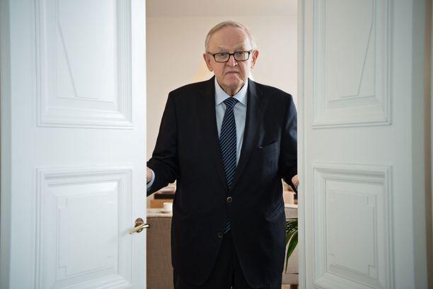 Martti Ahtisaari on arvostettu rauhanmies maailmalla.