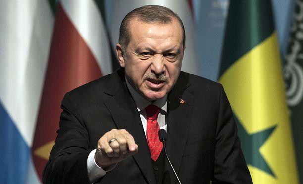 Turkin välit Yhdysvaltoihin jatkavat kiristymistään Recep Tayyip Erdoganin johdolla.