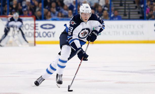 Patrik Laine on jälleen NHL:n tehokkain tulokas.