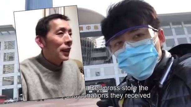Fang Bin (vas.) ja Chen Qiushi (oik.) ovat kadonneet sen jälkeen, kun he kertoivat Wuhanin koronavirusepidemiasta.