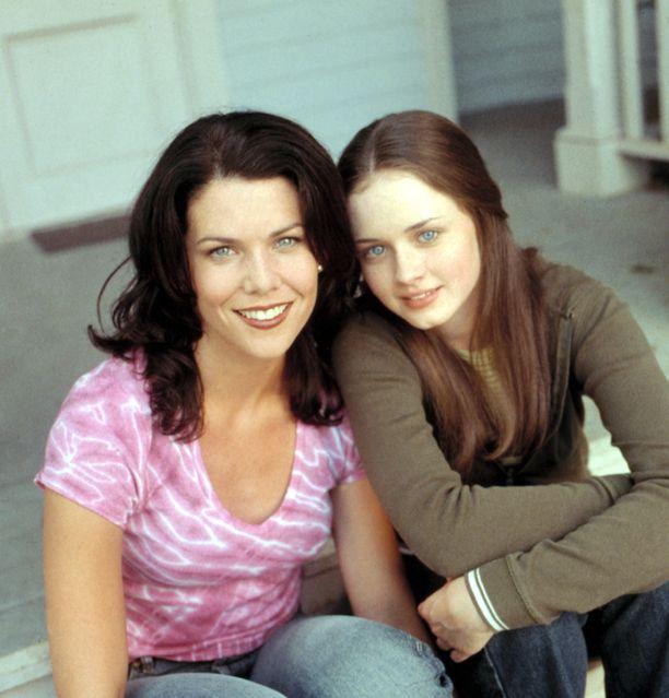 Moni samaistui Gilmoren tyttöjen Loreleihin ja Roryyn.