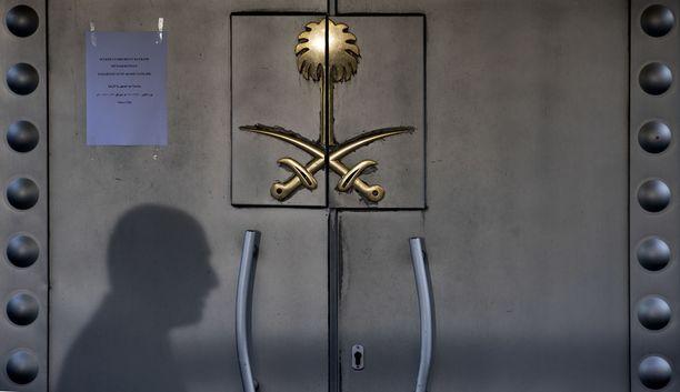 Jamal Khashoggi murhattiin Istanbulin-konsulaatissa.