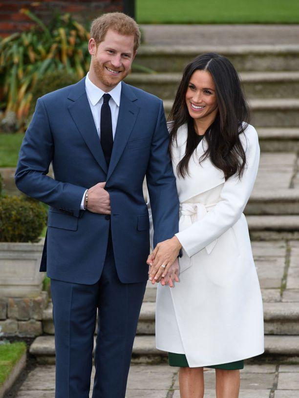 Prinssi Harry ja Meghan Markle julkaisivat kihlautumisensa marraskuussa 2017.
