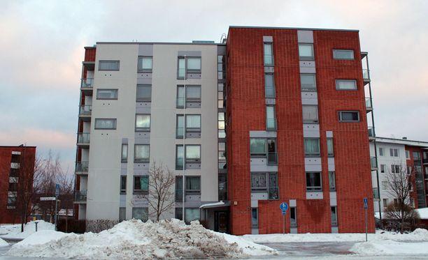Tuhotöiden kohteena on ollut opiskelijoiden asuttama Ainolankaari 2 Jyväskylässä.