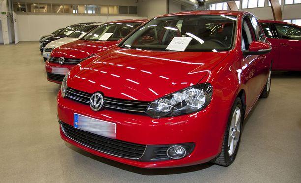 Volkswagen Golf oli katsotuin huhtikuussa.