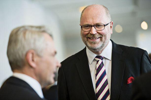 SDP:tä vuodet 2005-2008 johtanut Eero Heinäluoma haluaa seuraavaksi europarlamenttiin.