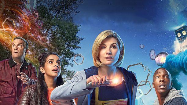 Uusissa jaksoissa nähdään Graham (Bradley Walsh), Yaz (Mandip Gill) , Doctor Who (Jodie Whittaker) ja  Ryan (Tosin Cole).