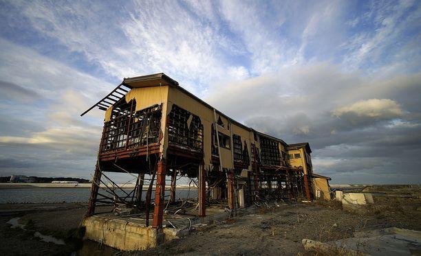 Maanjäristys ja sitä seurannut tsunami tuhosi yli miljoona rakennusta.