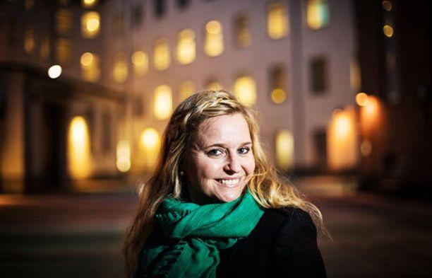 Katri Mattsson valittiin Palloliiton puheenjohtajistoon.