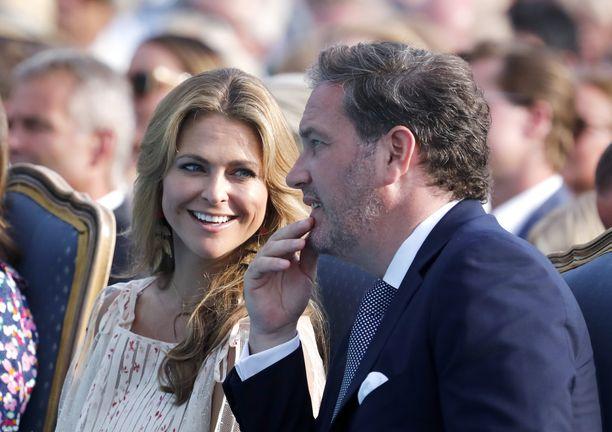Prinsessa Madeleine ja Chris O'Neill viettivät kesän Ruotsissa.