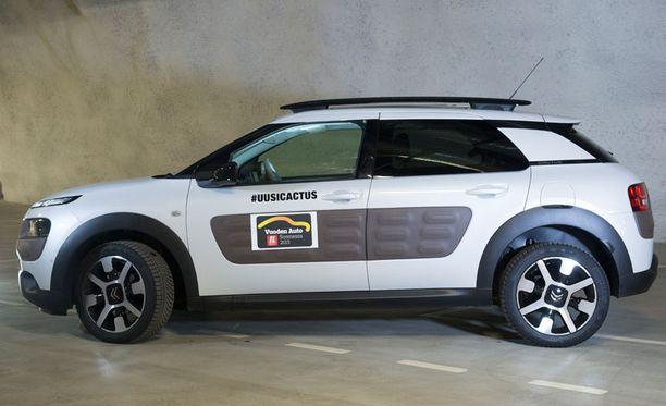 Paras perheauto. Citroën C4 Cactus esittelee erilaisia mutta toimivia ratkaisuja.