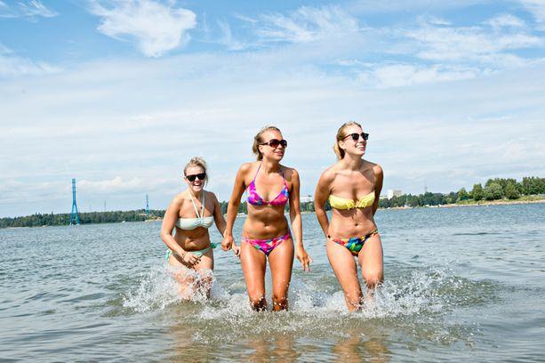 Uuden ennustuksen mukaan heinäkuu, elokuu ja syyskuu tulevat olemaan paria astetta keskiarvoa lämpimämpiä.