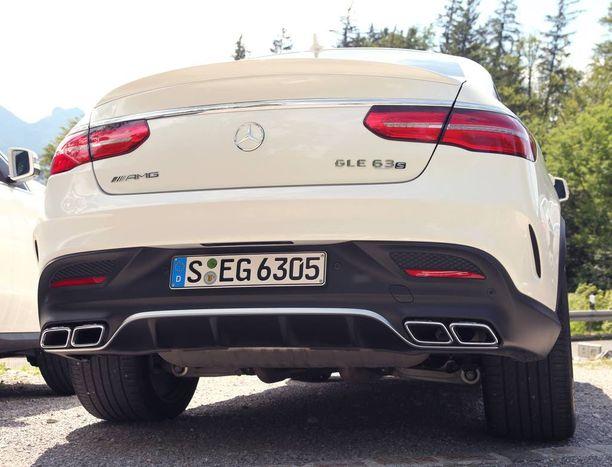 63 ja 63 S ovat täysverisiä Mercedes-AMG:n malleja.