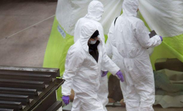 Uddevallan rauhalliselta asuinalueelta löytyi lauantaina kolme ruumista.