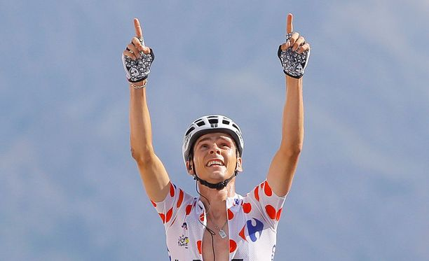 Warren Barguil tuuletti etappivoittoa Ranskan ympäriajossa.
