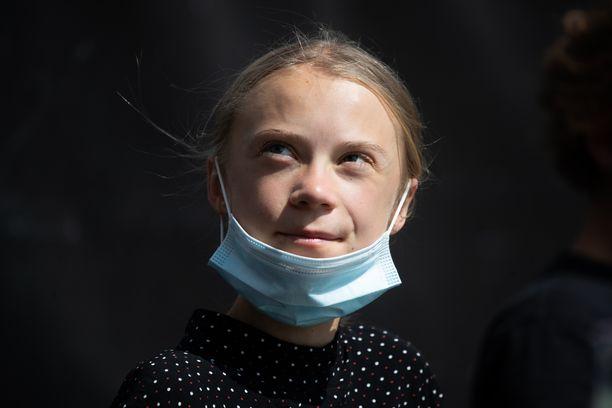 Greta Thunberg on tullut tunnetuksi ilmastolakoistaan ja suorasanaisista lausunnoistaan.