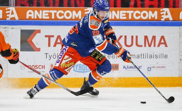 Niko Ojamäki yllätti osumallaan itsensä. Arkistokuva.