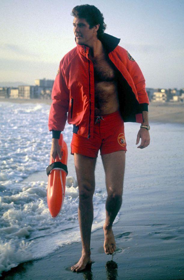 Miljoonansa Hasselhoff teki Baywatch-sarjalla.