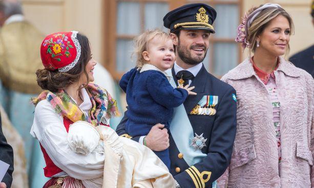 Kuva prinssi Gabrielin ristiäisistä vuonna 2017.