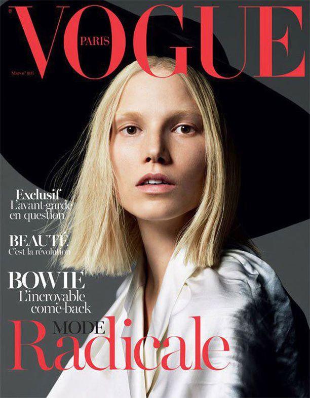 Suvin kasvot kaunistivat Voguen kantta viime vuonna.