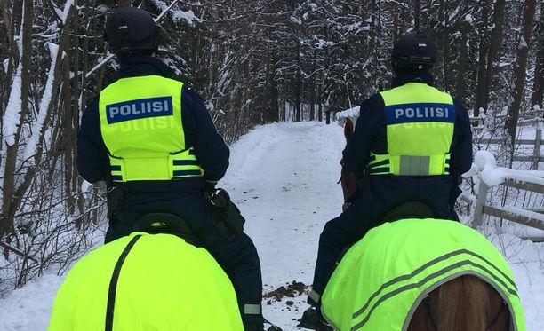 Helsingin poliisilaitoksen ratsastavalla osastolla on menossa testaus uusista mahdollisista eläinhankinnoista.